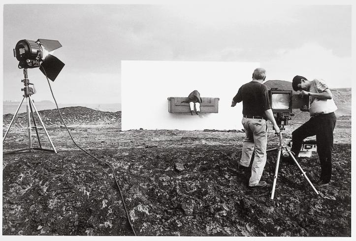 Horst Wackerbarth bei der ARbeit
