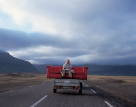 Horst Wackerbarth on the road