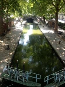 Canals Saint Martin, Schleuse