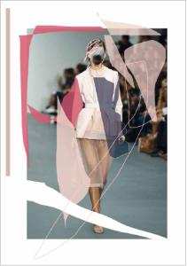 Editiorial for Noctis magazine / London Fashion Week special / Bora Aksu SS16 / Illustration: IZAIZA