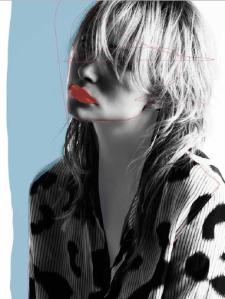 Illustration von IZAIZA zur Fashion Week London