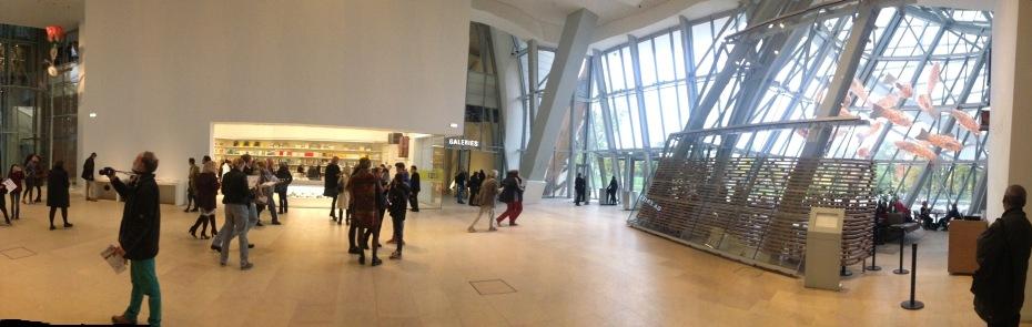 Eingangsbereich der Fondation Luis Vuitton