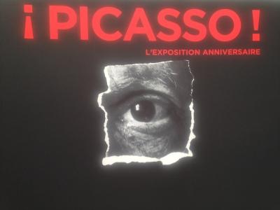 Ausstellungs-Plakat des Picasso Museums, Paris