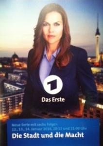"""Starke Rolle: Anna Loos in """"Die Stadt und die Macht"""""""