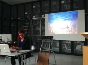 Die Hamburger Künstlerin Jenny Schäfer
