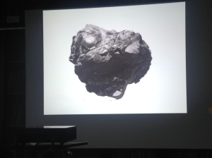 Aggregatszustände von Jenny Schäfer beim Artist Talk in Hamburg