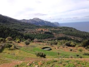 Blick auf dem Weg von Estellencs nach Esporles