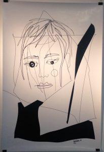 IZAIZA in der Pop Up Gallery Kunstvoll
