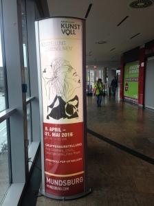 Pop Up Gallery Kunstvoll im Mundsburg Shopping Center