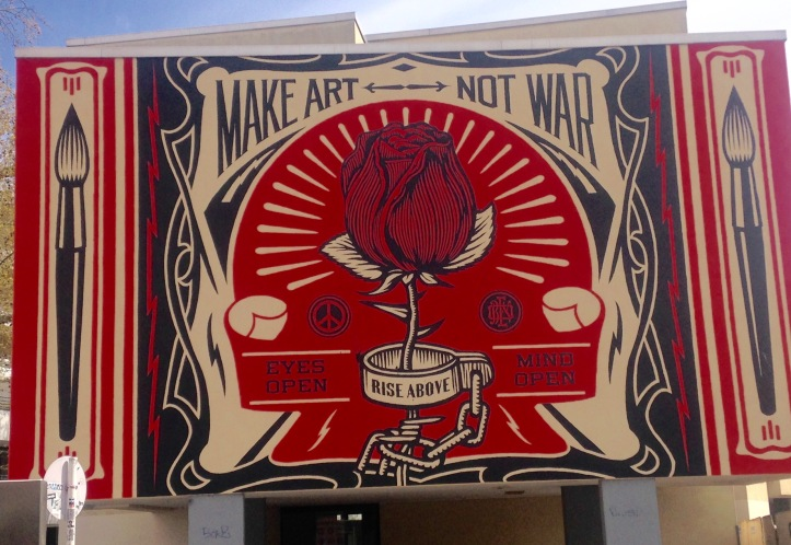 Make Art! Graffiti am Halleschen Tor in Berlin