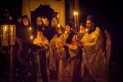 Die Mönche von Athos feiern Ostern als ihr hchstes Fest