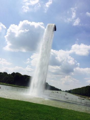Olafur Eliasson in den Gärten von Versailles: Waterfall