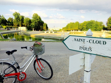 Paris à vélo: Radtour über Saint Cloud nach Versailles