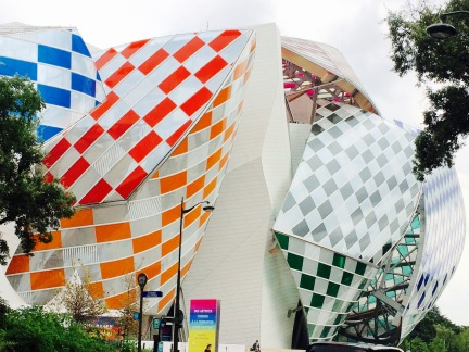 Paris à vèlo: Fondation Louis Vuitton