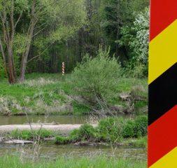 Oder-Neisse-Grenze zwischen Polen und Deutschland