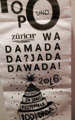 Zürich, Zunfthaus zur Waag: Dada Klopapier