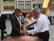 art Chefredakteur Tim Sommer in Zürich