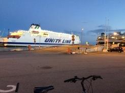 Von Ystad fährt man nach Bornholm und nach Swinemünde