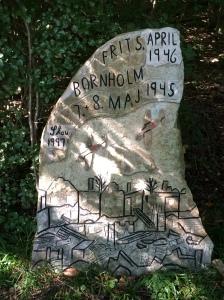 Bornholm per Rad. Slau's Stene