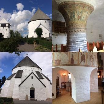Wahrzeichen Bornholms: Rundkirchen von Nylars und Østerlars