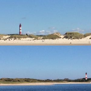 Von Leuchtturm zu Leuchtturm: Schifffahrt Amrum - Sylt