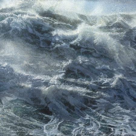 Jochen Hein: Kochende See, 2015, 130x180