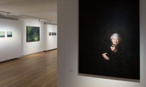 Jochen Heim im Museum Kunst der Westküste auf Föhr: Portraits in altmeisterlicher Technik