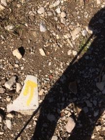 Wandern am Comer See: Wegweiser sind oft Mangelware, man interpretiert, was man sieht.