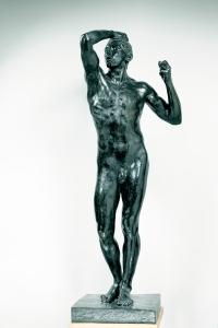 Auguste Rodin: Das Eherne Zeitalter, 1877, 180,5x68,5x54,5 cm, Musée Rodin, Paris.