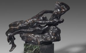 Auguste Rodin: Fliehende Liebe, vor 1887, Musée Rodin, Paris. Foto: Herve Lewandowski