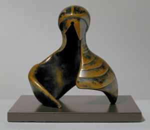 Henry Moore: Helmet Head and Shoulders, 1978 © The Henry Moore Foundation. All Rights Reserved
