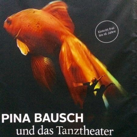 Pina Bauch Ausstellungs-Plakat für Berlin