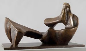 Henry Moore: Two Piece Reclining Figure No.9, © The Henry Moore Foundation. All Rights Reserved
