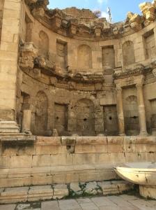 Zentrale Wasserversorgung: Nyphaeum des antiken Gerasa