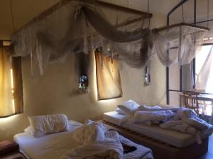 Gemütliches Zimmer in der Feynan Eco-Lodge