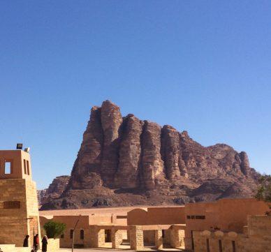 """Die 7 Säulen der Weisheit - dieser Felsformation verdankt die Vorlage für """"Lawrence von Arabien"""" seinen"""