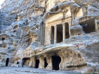 Karawanen-Umschlageplatz Klein Petra, arabisch Siq el-Barid