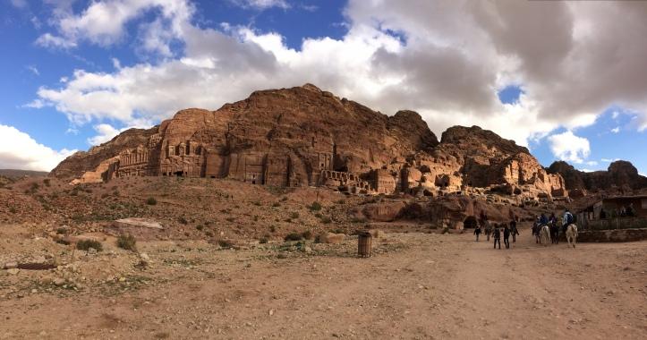 Das Gebiet der einstigen Handelsstadt Petra