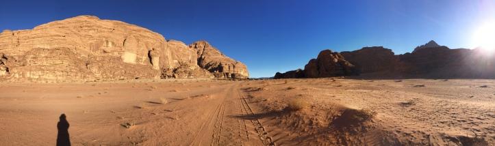 I've been through the desert Wadi Rum