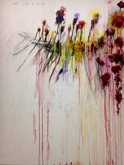 "Cy Twombly: Aus dem Zyklus ""Coronation of Sesostris"", Centre Pompidou, Paris"