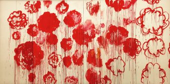Wandfüllend: Roses by Cy Twombly