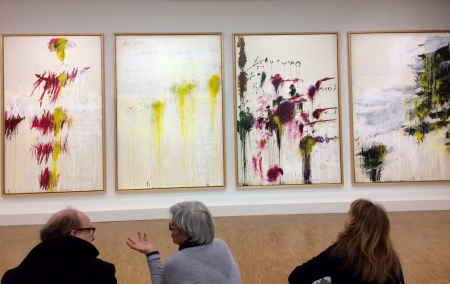 Cy Twombly im Centre Pompidou: Four Seasons