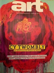 Cy Twombly in art, Titel