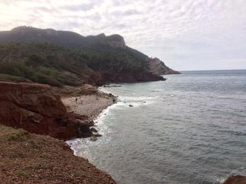 Beschaulicher Rastplatz: Strand vor Port de Canonge