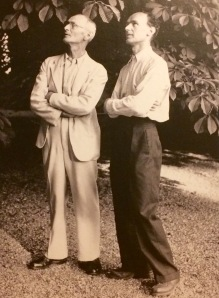 Vater und Sohn: Hermann Hesse mit Martin Hesse