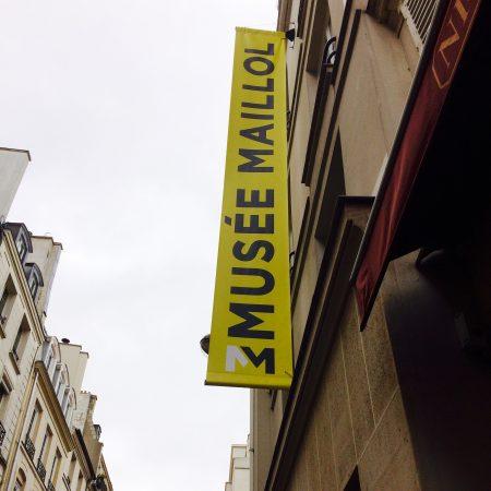 Eingang ins Musée Maillol, Rue de Grenelle 59–61.