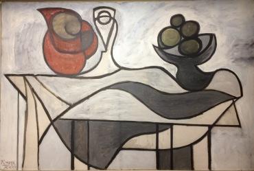 Pablo Picasso: Wasserkrug und Obstschale, 1931
