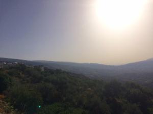 Morgensonne über Yegen