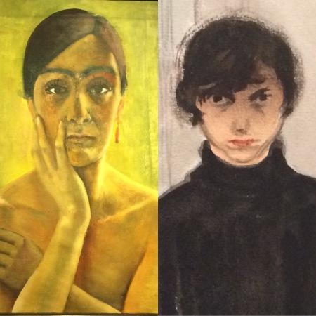 Zwei Künstlerinnen im Selbstportrait: Anita Rée und Jeanne Mammen