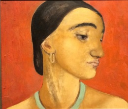 Eines der vielen Frauenportraits von Anita Rée
